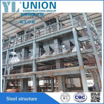 structure steel fabrication for school apartments