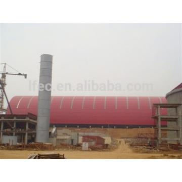 Cement Plant Construction Project for Building Warehouse