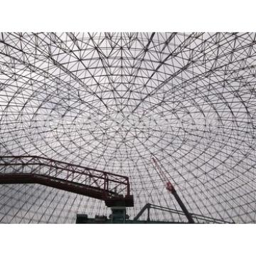 high design standard prefab galvanized cement plant space framing