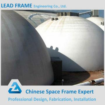 windproof space frame for cement plant