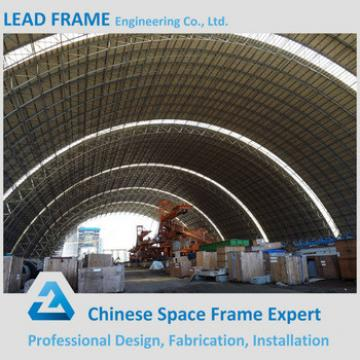 Prafabricated Steel Structure Space Frame Coal Minging Outdoor Storage Sheds