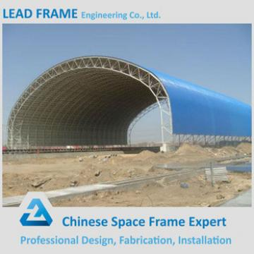 Waterproof outdoor space frame for coal shed