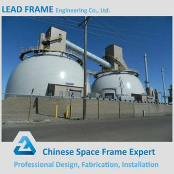 Prefabricated arch steel space frame roofing