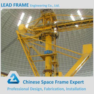 Large Span Light Gauge Steel Framing for Coal Storage Shed