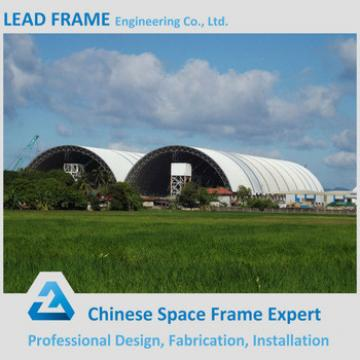 Best selling pre engineered steel space frame for coal storage