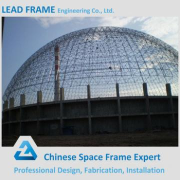 Prefabricated Dome Steel Structure Space Frame Coal Storage Shed