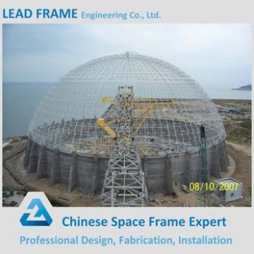 Large Span Light Weight Structural Steel Dome Storage Building