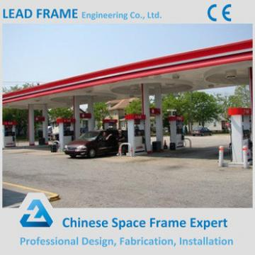 Economic Cost Gas Station Space Frame Roof Structure