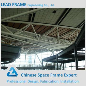 Prefab steel girder truss building