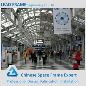 Prefab steel truss roofing structure airport station