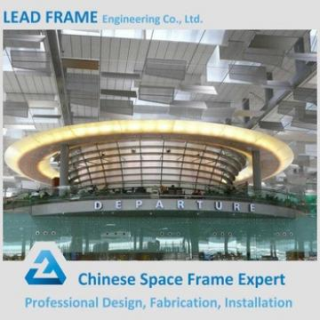 Modern International Airport Terminal Roof Design Space Grid Frame Structure