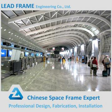 Prefab building space frame airport terminal structure