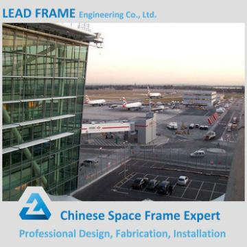 Long span prefabricated galvanized steel structure airport terminal