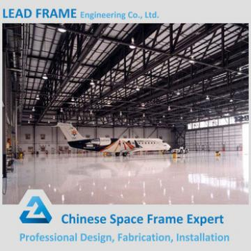 Light gauge steel frame aircraft hangar building truss roof