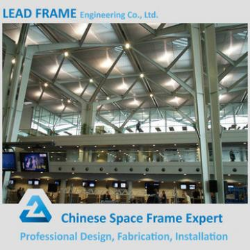 Light Steel Large Span Prefabricated Airport Waiting Hall