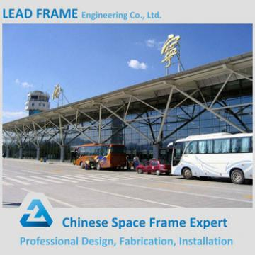 High quality steel structure space frame for train station