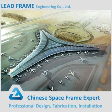 long span prefabricated airport terminal construction