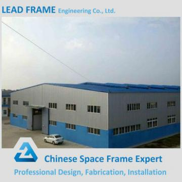 Prefabricated workshop with waterproof truss space frame shed