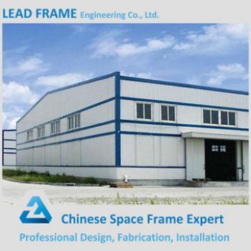 Light steel structure workshop building