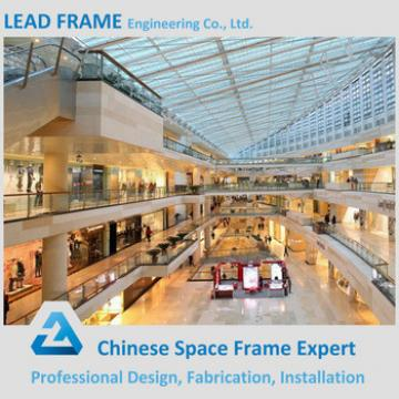 Glass Dome Skylight Roof Steel Structure Shopping Mall