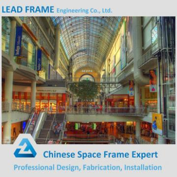 High quality prefabricated building construction materials for shopping malls
