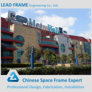 Pre Engineering Construction Structural Steel Shopping Mall