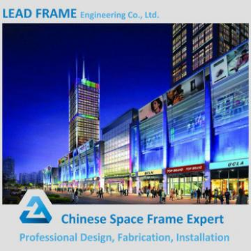 Beautiful Appearance Steel Space Frame Building Materials Shopping Mall