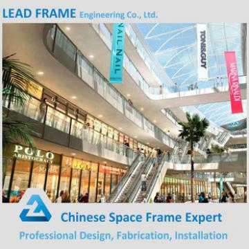 economical prefabricated building construction materials for shopping malls
