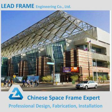 Exhibition Hall Decorated by Space Frame