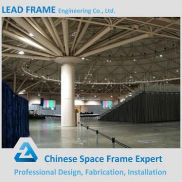 Q235B Steel Space Frame Structure Prefabricated Wedding Halls