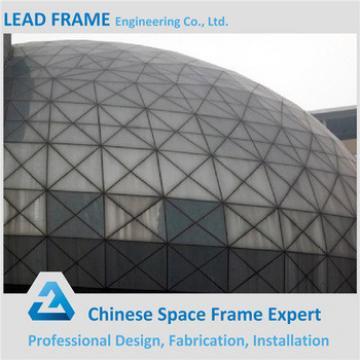Q345B Steel Space Frame Long Span Roof Prefabricated Hall