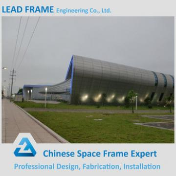 Lightweight space frame steel prefabricated hall