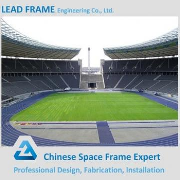 Football Stadium Steel Space Frame Roof Design Construction Building