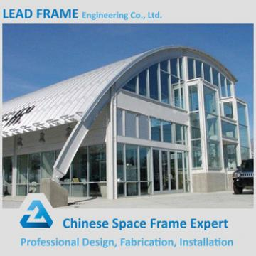 Customized Light Steel Space Frame Prefabricated Conference Hall Design