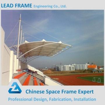 Long Span Light Steel Space Frame Structure Prefabricated Stadium Bleachers