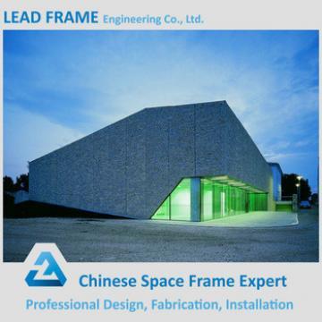 Wind Resistant Steel Space Frame Structure Prefabricated Wedding Halls