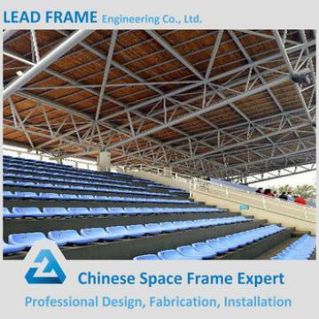 Truss structure steel member grandstand