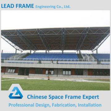 Economical steel space frame indoor gym bleachers