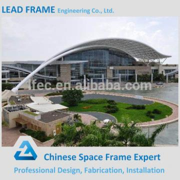 China prefabricated steel frame conference hall design