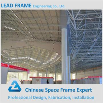 prefab steel structure space frame for conference hall