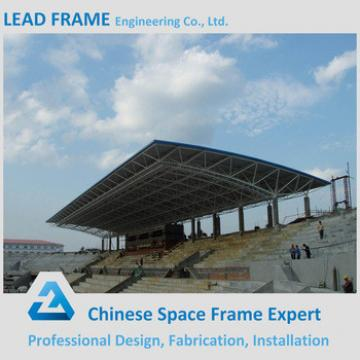 Prefabricated steel frame structure bleachers