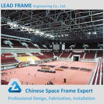steel space frame prefabricated indoor gym bleachers
