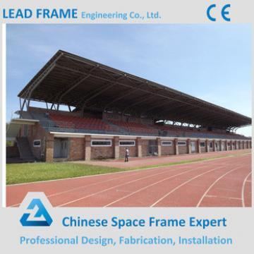 Lightweight Space Frame Truss for Stadium Bleacher