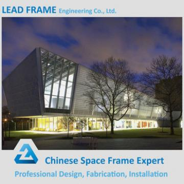 Light gauge steel frame structure for hall