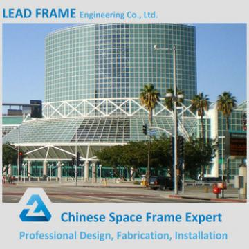 Xuzhou Lead Frame Steel Space Frame Long Span Roof Prefabricated Hall