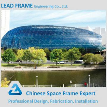 Customized Long Span Space Frame Truss Roof Structure Space Frame Design
