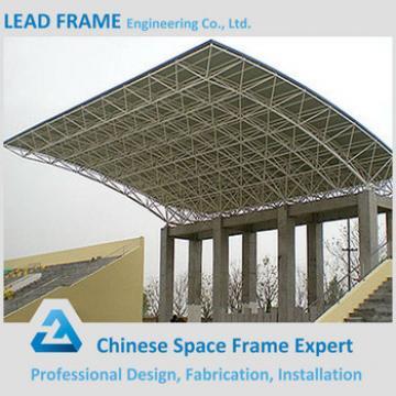 fast installation steel space frame roof stadium bleachers
