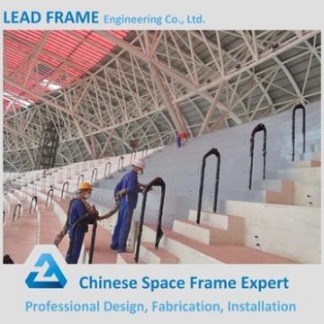 Prefab Steel Structure Steel Pipe Truss For Sadium Bleacher