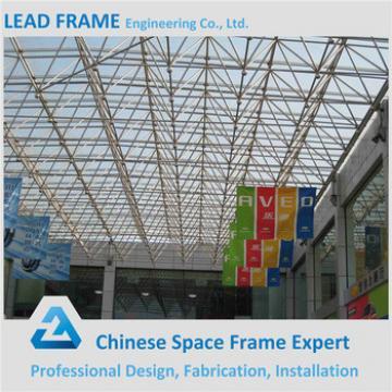 2017 New Design Prefab Transparent Glass Steel Structure Building