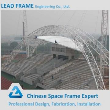 Economy Spaceframe Bleacher Steel Space Truss Structure For Sale